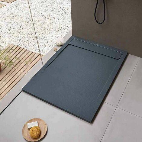 Receveur de douche clever 120 x 80 cm - Anthracite
