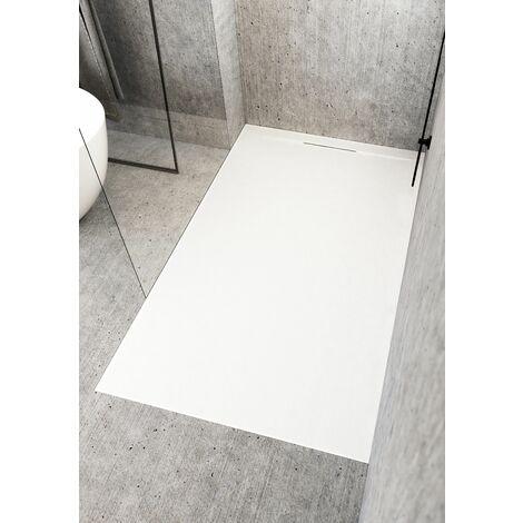 Receveur de douche Cover | 100 x 90 cm - Noir