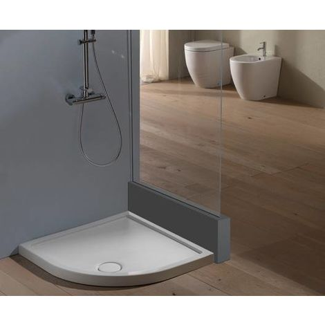 receveur de douche d 39 angle 80x80 cm en c ramique hauteur 6. Black Bedroom Furniture Sets. Home Design Ideas