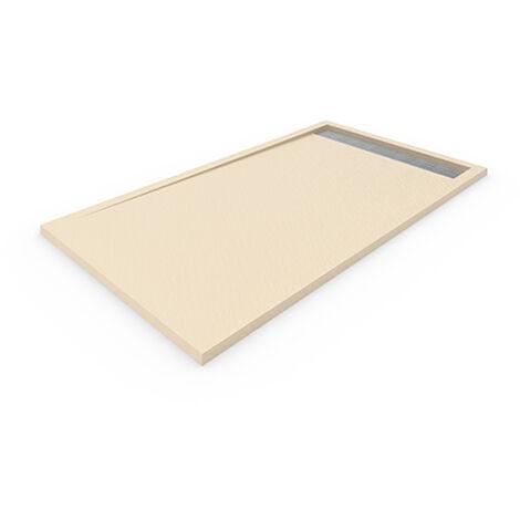 Receveur de douche DELUXE avec cadre 90x160 cm Beige
