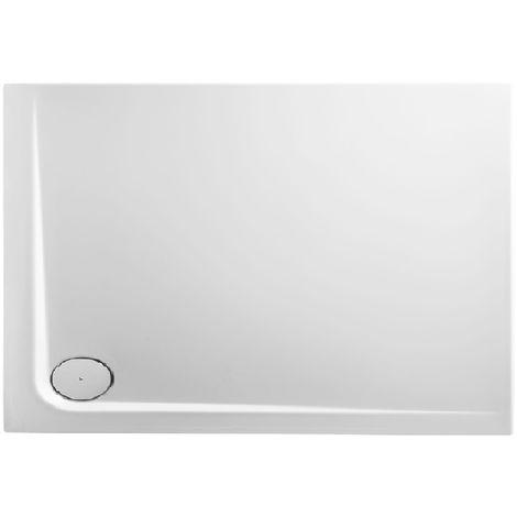Receveur de douche en acrylique 110x90x13,8 rectangulaire AMI 11LO blanc