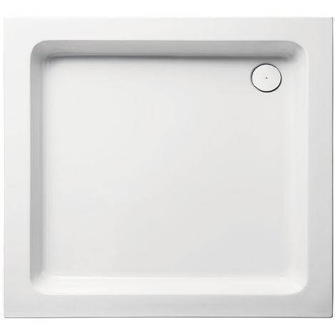 Receveur de douche en acrylique 70x90x10 rectangulaire FUN0 blanc