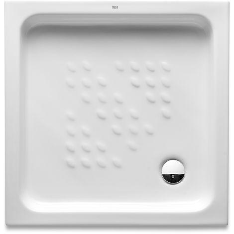 Receveur de douche en céramique a poser ITALIA Roca 700x700x80 - Blanc