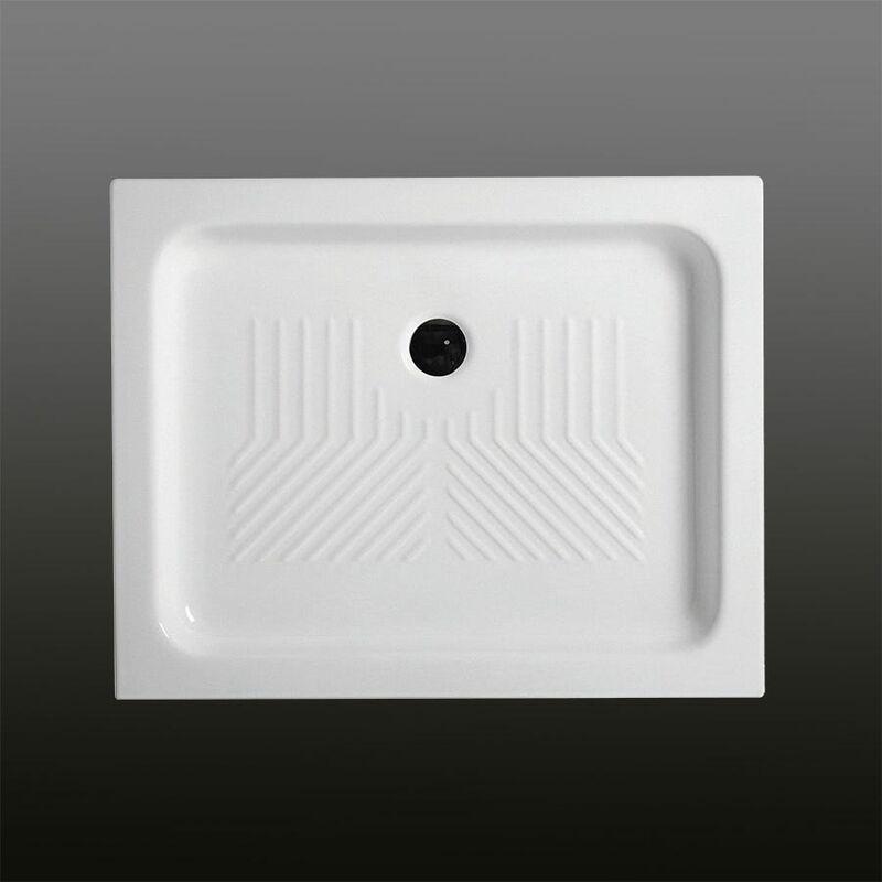receveur de douche en c ramique rectangulaire 70x90 cm topazio. Black Bedroom Furniture Sets. Home Design Ideas