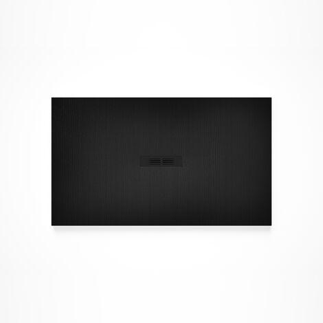 Receveur de douche en résine HELIOS - 1400x900x30mm - Noir