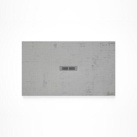Receveur de douche en résine HELIOS - 1600x700x30mm - Blanc