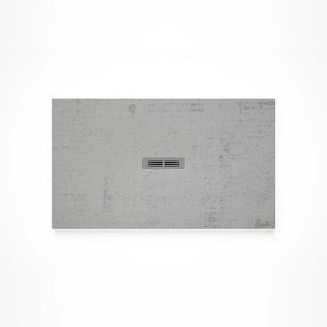 Receveur de douche en résine HELIOS - 1600x900x30mm - Gris ardoise