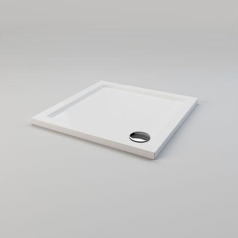 Receveur de douche extra plat bac a douche rectangulaire blanc sirhona