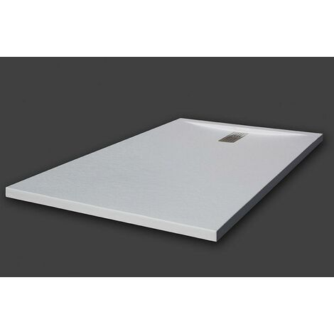 receveur de douche extra plat baltimore blanc ral 9003. Black Bedroom Furniture Sets. Home Design Ideas