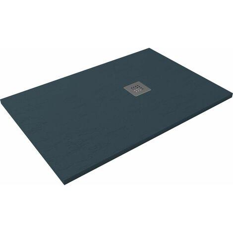 Receveur de douche extra-plat CLASIC Pizarra 80x120 Anthracite