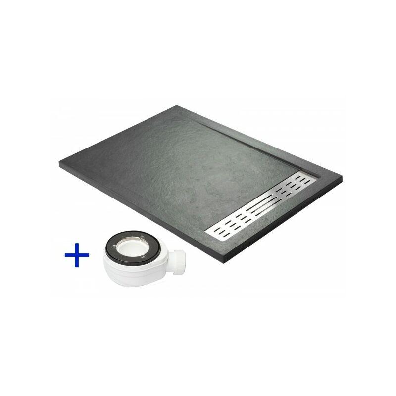 receveur de douche extra plat premium gris ardoise ral. Black Bedroom Furniture Sets. Home Design Ideas