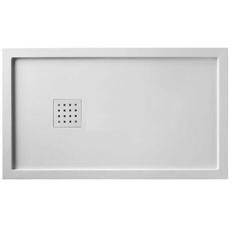 receveur de douche 70x120 liso enmarcado blanc m9927012111. Black Bedroom Furniture Sets. Home Design Ideas