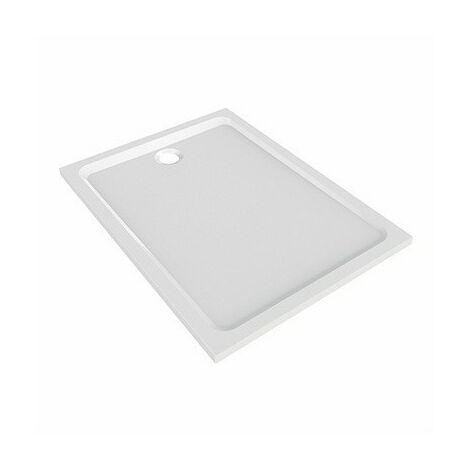 Receveur de douche Marbrex extra-plat rectangulaire PRIMA STYLE � poser � encastrer de 170 x 90 cm, pour bonde de 90 mm R�f. 00098200000
