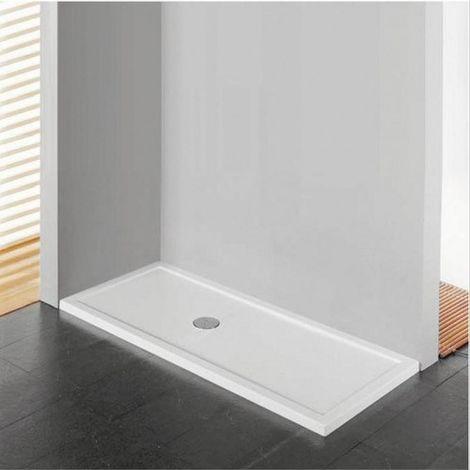 Receveur de douche noir mat acrylique, 4,5 cm Novellini Olympic plus