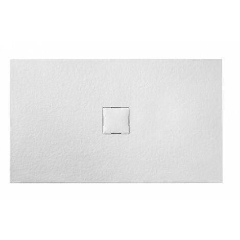 Receveur de douche Piedra Blanc - plusieurs tailles disponibles