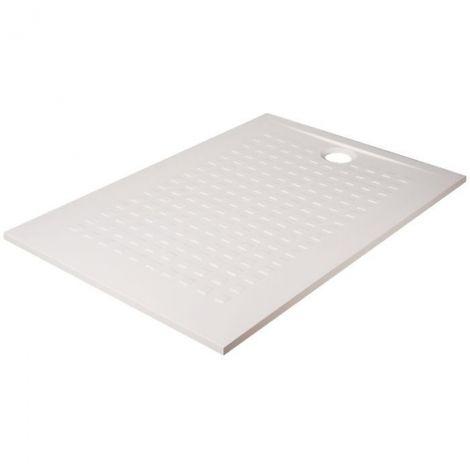 Receveur de douche rectangulaire blanc - Resisol - Créazur