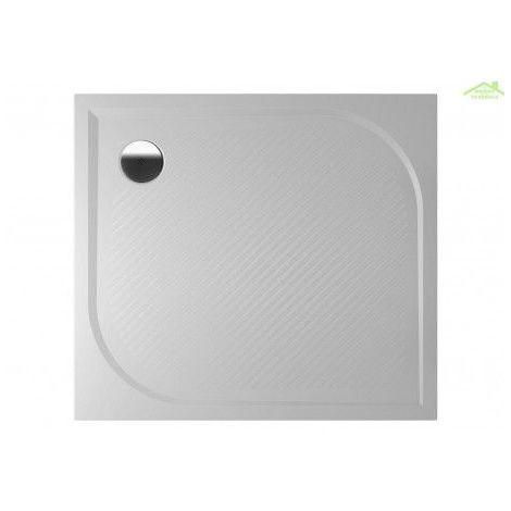 Receveur de douche rectangulaire en marbre RIHO KOLPING DB32 90x100x3cm - Avec tablier