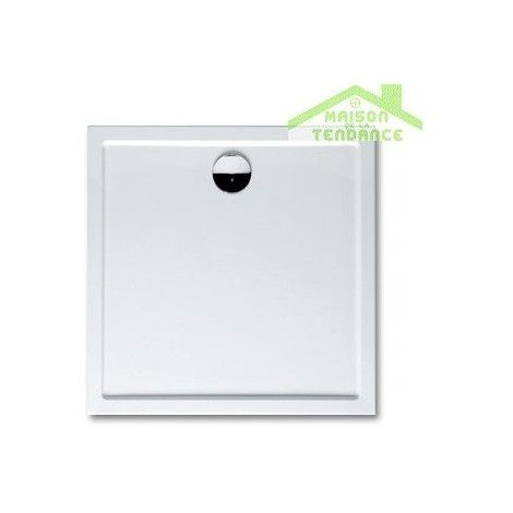 Receveur de douche rectangulaire RIHO DAVOS 271 80x90x4,5 cm, avec pieds et tablier