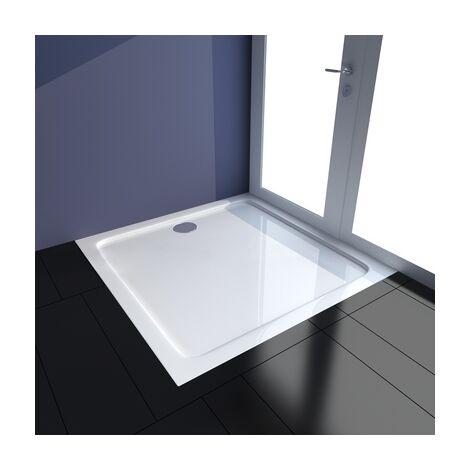 Receveur de douche resine blanc 90 x 90 cm