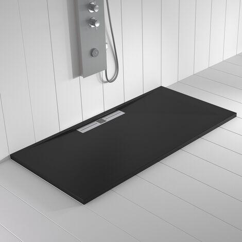 Receveur de douche Résine WIDE Noir - 210x90 cm