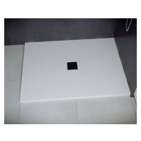 Receveur de douche TOP rectangulaire Blanc - Dimensions: 100 x 80cm - Blanc