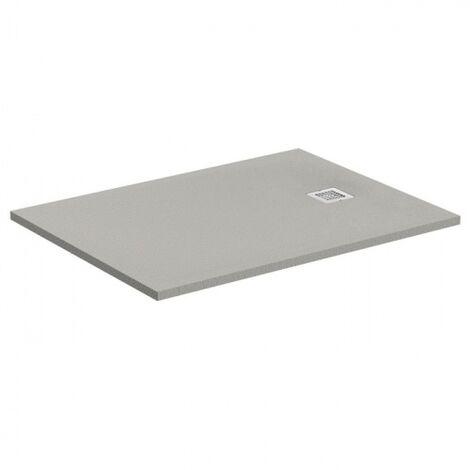 Receveur de douche Ultra Flat S - Gris Béton - 100x70 cm