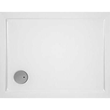 Receveur EVREN rectangulaire acrylique 1700x800x55 mm pour bonde de 90 mm