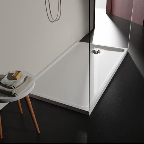 Receveur extra plat 80x140 en solid surface Tango