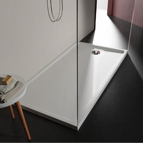 Receveur extra plat 80x160 en solid surface Tango