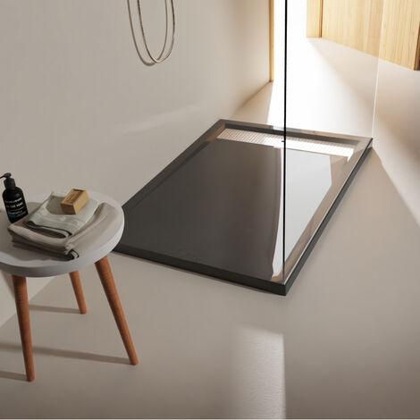 Receveur extra plat à poser 80x120 moderne gris