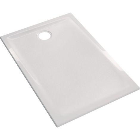 Receveur GEBERIT PRIMA UP devient RENOVA AE 120 x 90 mm AGL blanc Réf 00747900000AG3