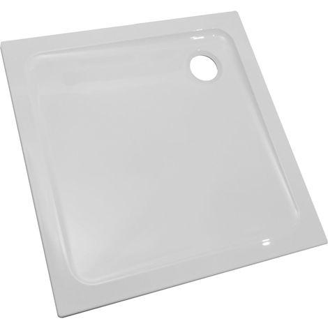 Receveur Kinestart 90 x 90 x 3 cm blanc Réf. RD091