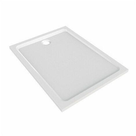 receveur melua 100x90 blanc