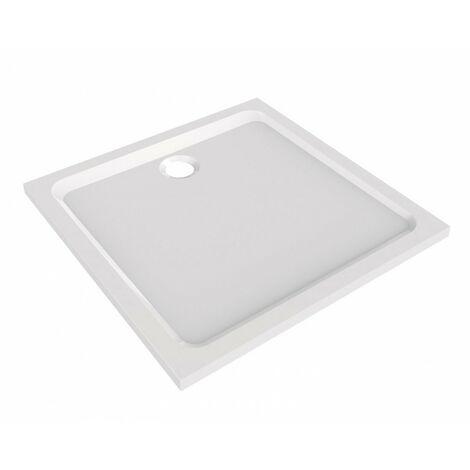 receveur melua 90x90 blanc
