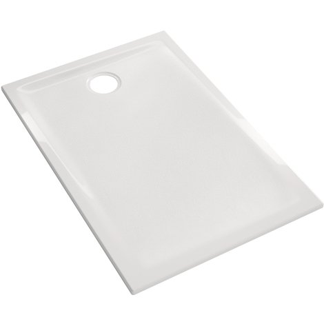 Receveur Renova 140x90x5cm - Geberit - Blanc - à poser et/ou à encastrer