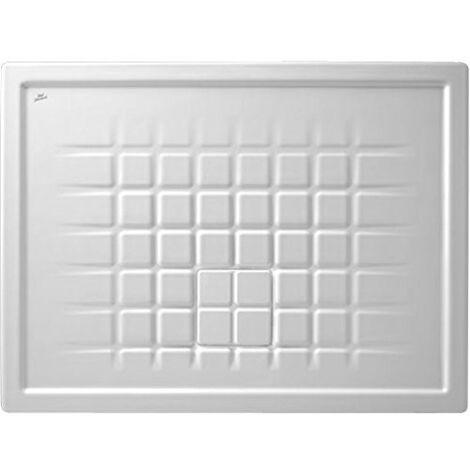 Receveur TWIST 100x75cm extra-plat blanc