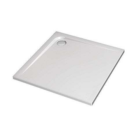 Receveur Ultra Plat Carré, Blanc (K517201)