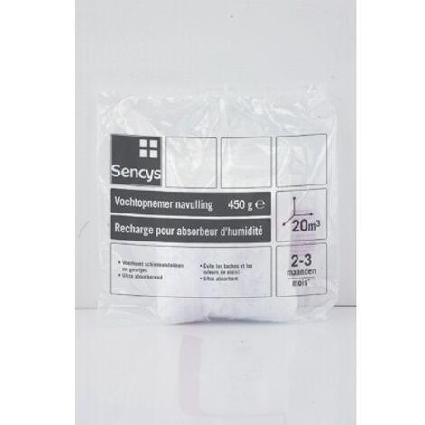 Recharge absorbeur d'humidité Sencys - '104189' neutre 450 gr