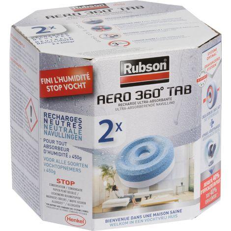 Recharge Aero 360° pour absorbeur Rubson - plusieurs modèles disponibles