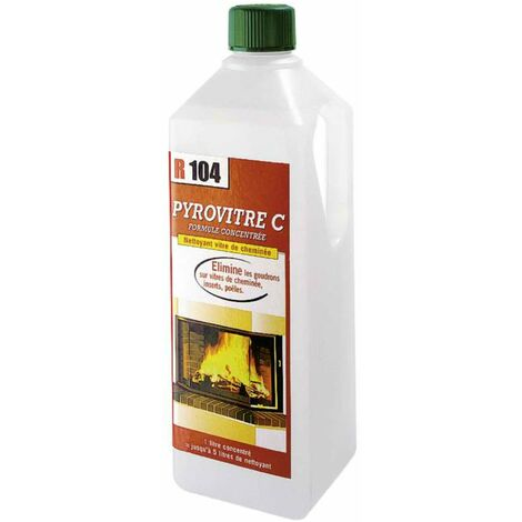 Recharge nettoyant pour vitres d'insert R104 1L