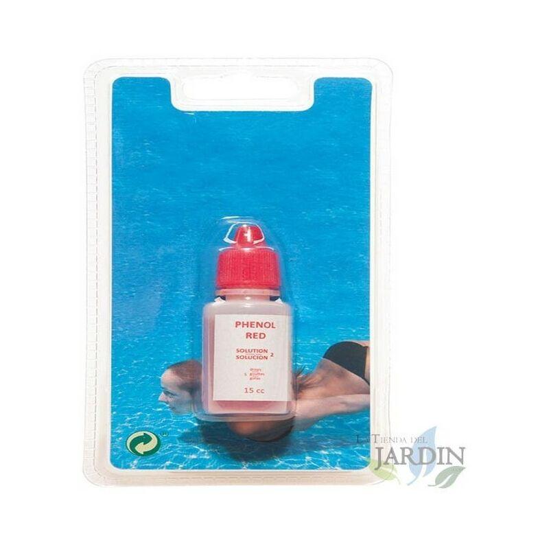 Recharge réactive Phenol 15 cm3 pour piscines - SUINGA