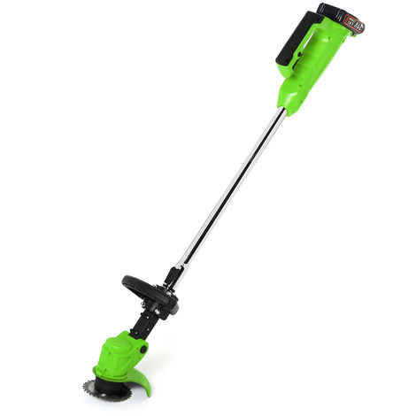 Rechargeable Cordless Electric Lawn Mower Green