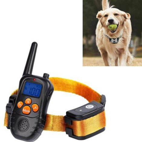"""main image of """"Rechargeable Dog Training Collar with, Electric Dog Collar with Adjustable Intensity Levels - Fully Waterproof"""""""