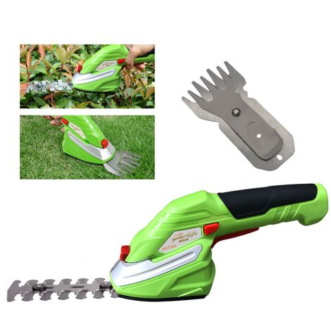 Rechargeable electric turmoil, multifunctional weeding shears, small domestic gardening machine pruning machine, fruit trees secure