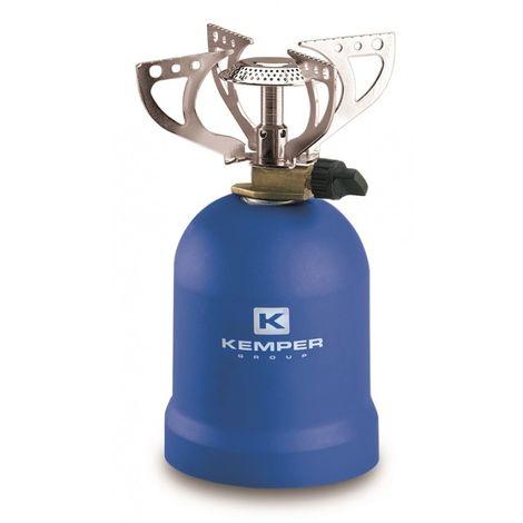 Cuisinière à gaz Kemper avec 4 supports 1200 Watt Blue