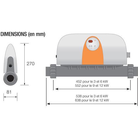 Compatibilité des réchauffeurs électriques avec les piscines