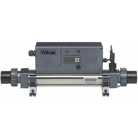 Réchauffeur piscine digital vulcan titane 12 kw mono/tri