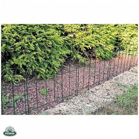 Piante Per Recinzioni Giardino.Recinzione In Metallo Ad Arco Per Aiuole Giardino Piante Cm 40xh40