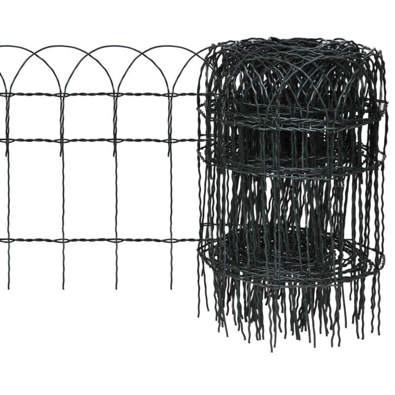 Recinzioni In Ferro Per Giardino.Recinzione Per Giardino In Ferro Verniciato A Polvere 10x0 4 M