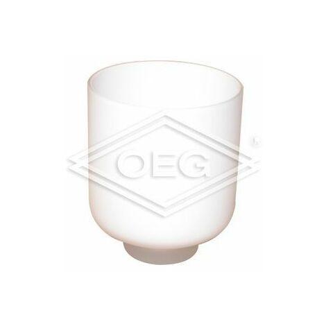 Récipient cristal pour porte-balai WC pour série Ambio